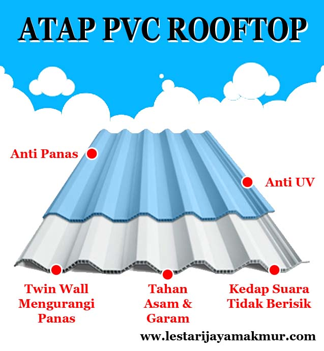 atap pvc rooftop
