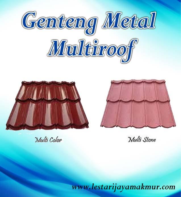 harga genteng metal multiroof