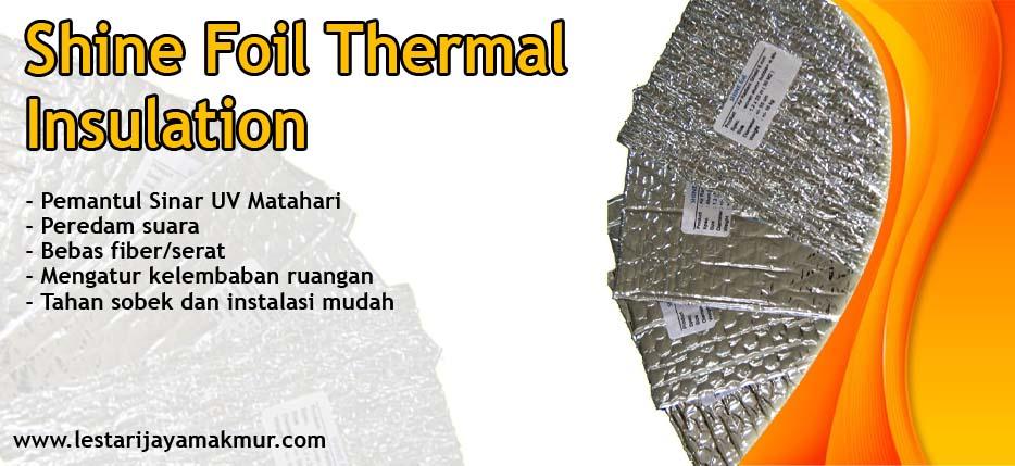 harga insolation shine foil thermal