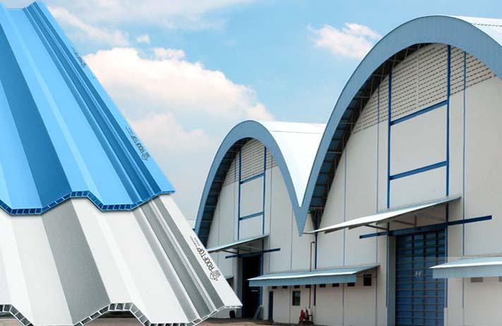 penggunaan atap pvc rooftop