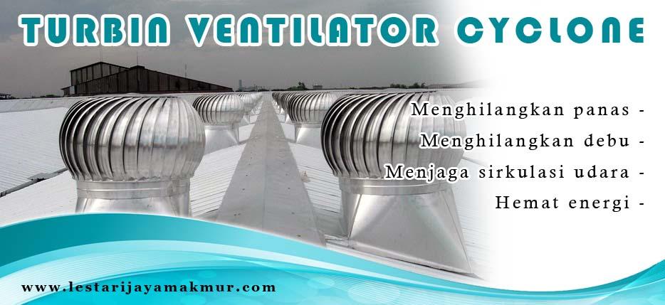 spesifikasi dan harga turbin ventilator cyclone