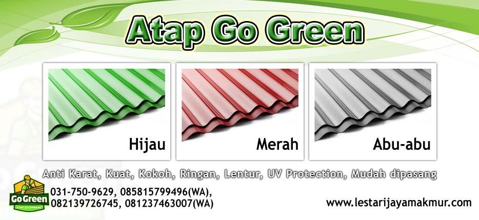 harga atap go green