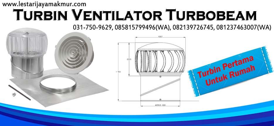 spesifikasi dan harga turbin ventilator turbobeam