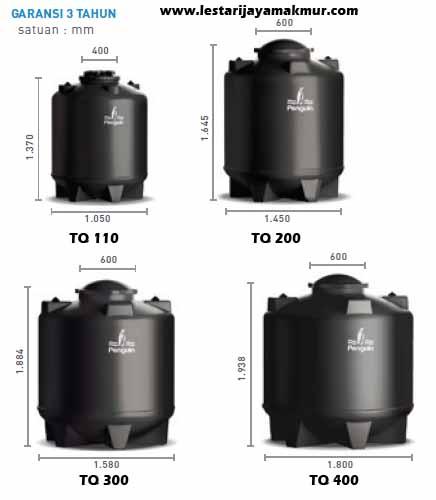 tangki air penguin underground tank