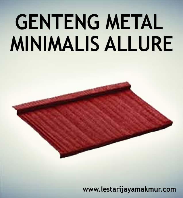 genteng metal minimalis allure