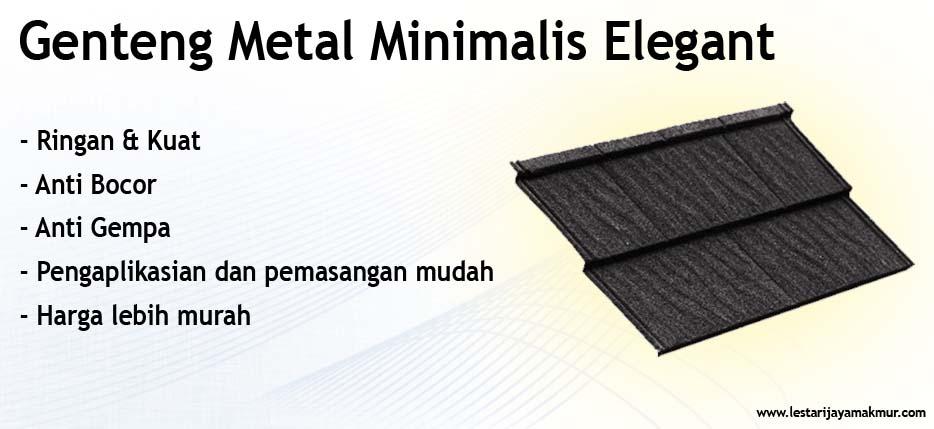 harga genteng metal minimalis elegant