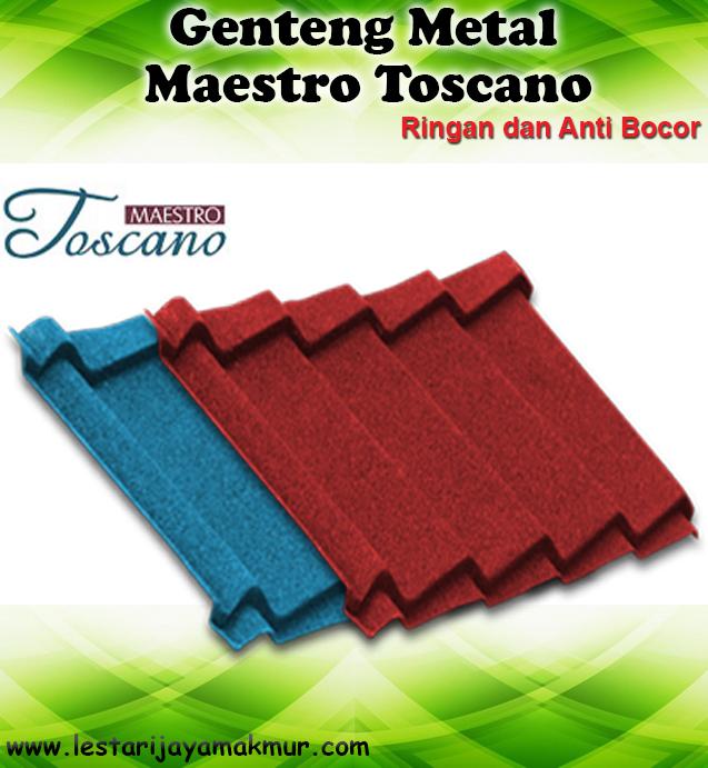 Harga Genteng Metal Maestro Toscano