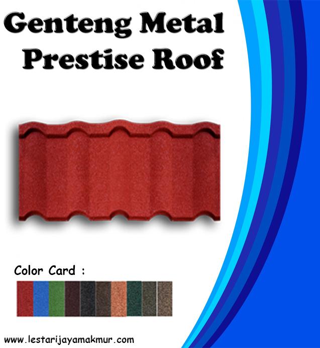 Harga Genteng Metal Prestise Roof terbaru