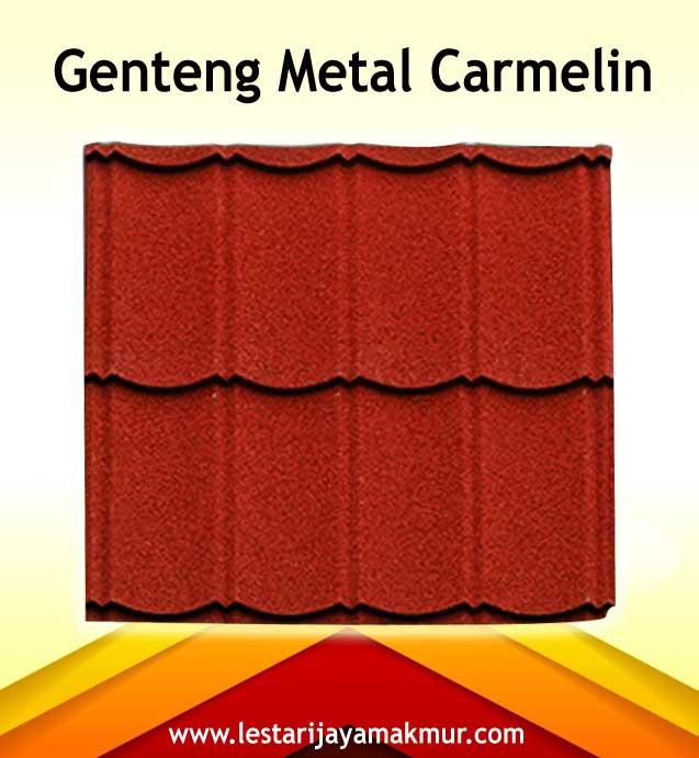 harga genteng metal carmelin