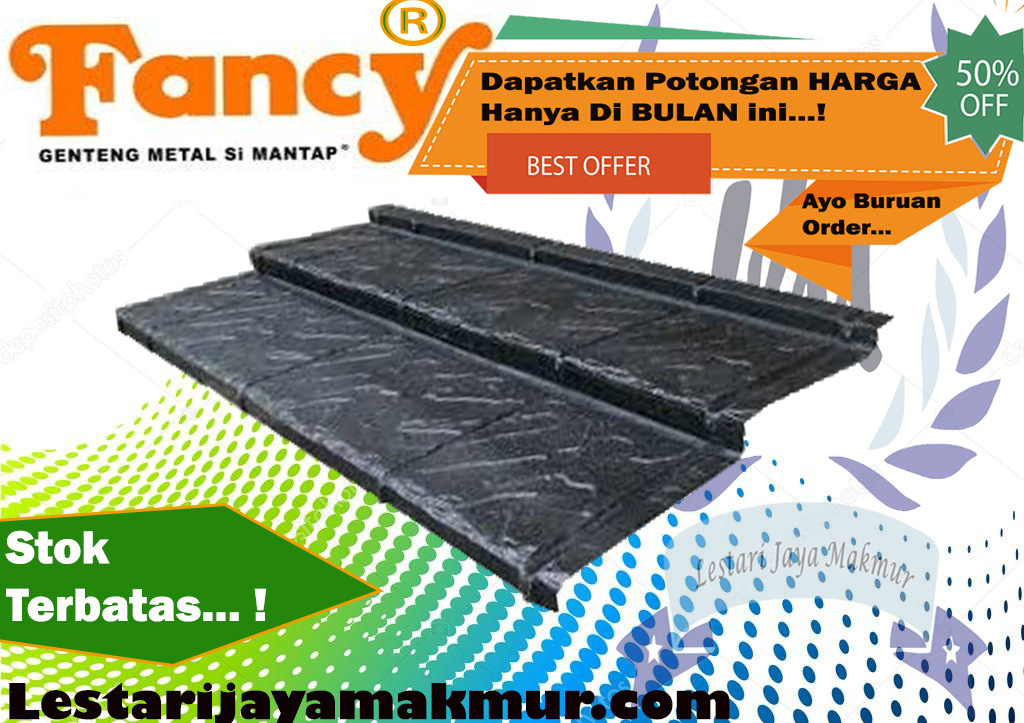 jual genteng metal fancy roof