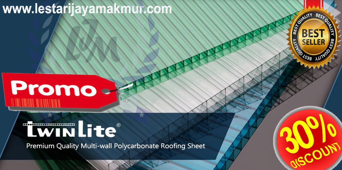 atap polycarbonate twinlite