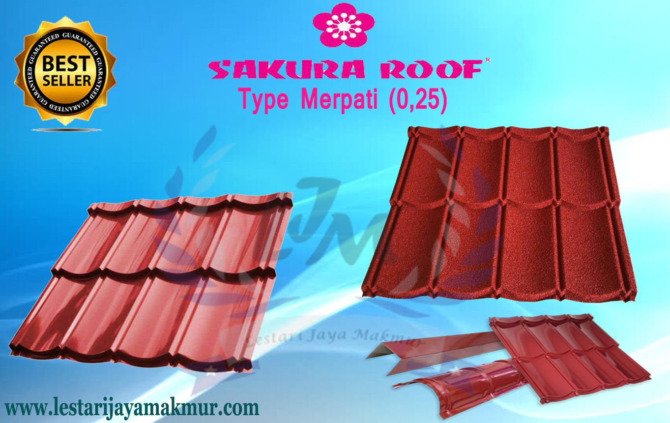 Harga Genteng Metal Sakura Roof Terbaru