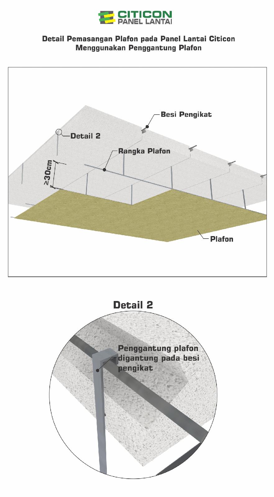 pemasangan panel lantai