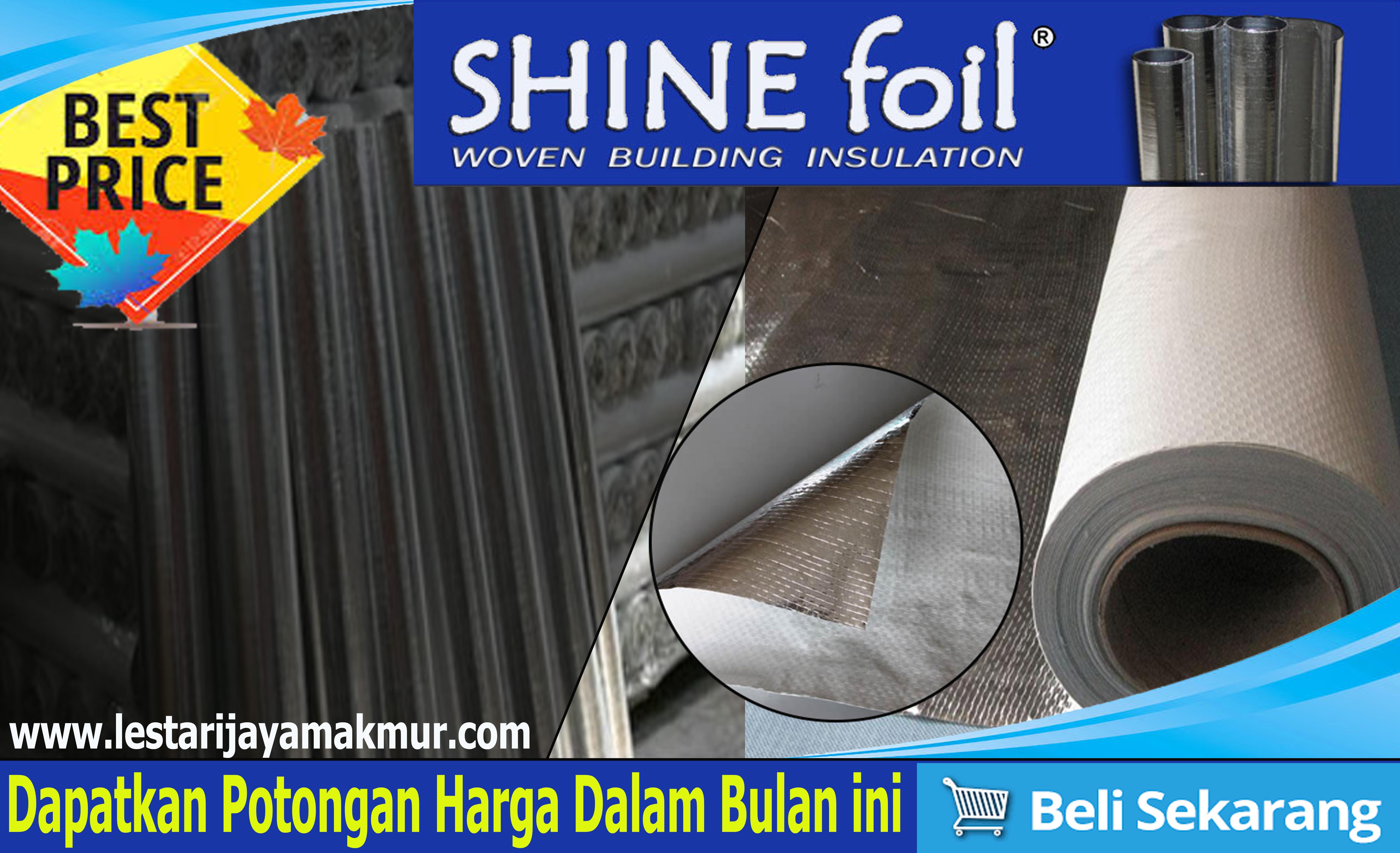 harga aluminium foil insulation