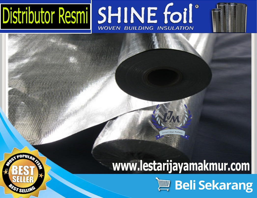 Jual Aluminium Shine Foil Insulation