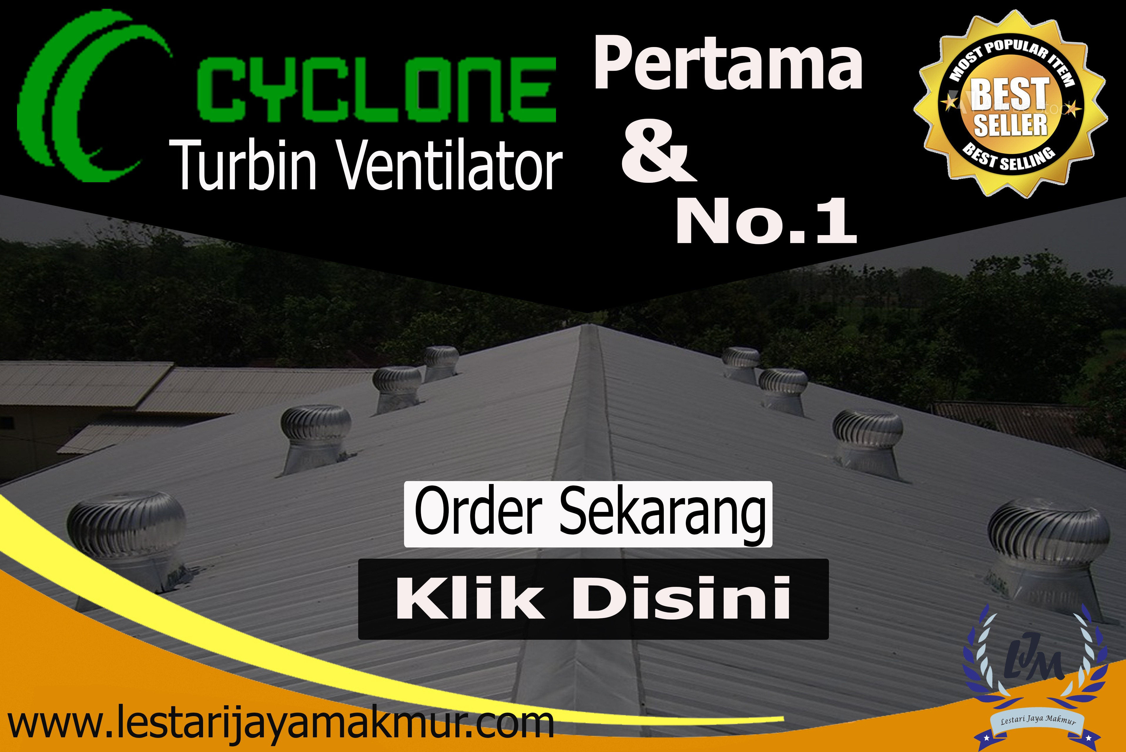 jual turbin ventilator cyclone