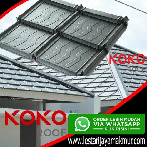 harga genteng metal koko roof