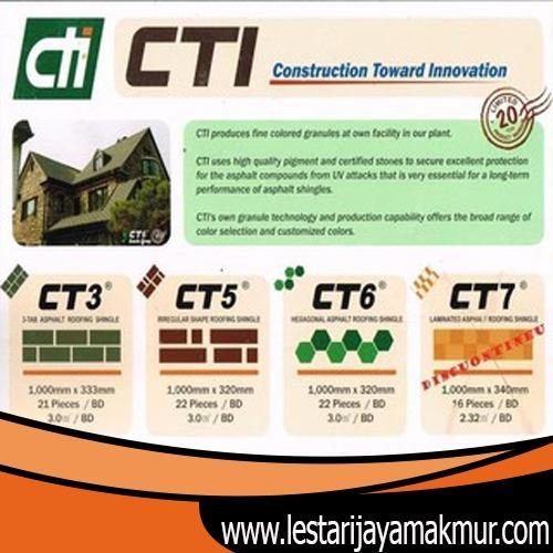 Harga Genteng Aspal CTI