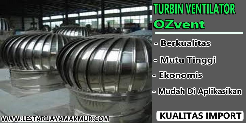 jual turbin ventilator ozvent